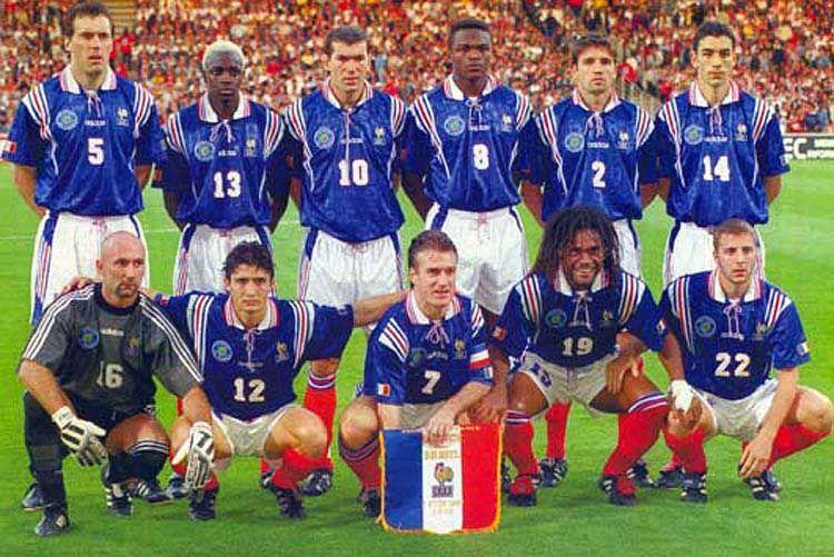 Copa Do Mundo De 1998 Na Franca Football Team Pictures Football Team World Cricket