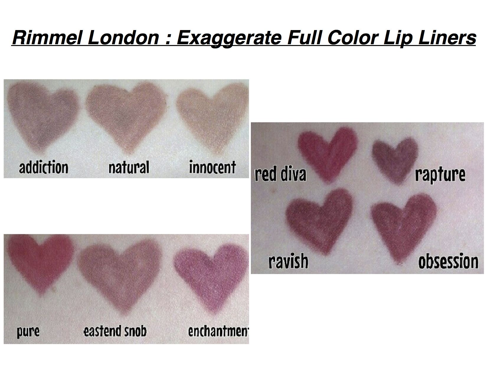 Exaggerate Lip Liner by Rimmel #20