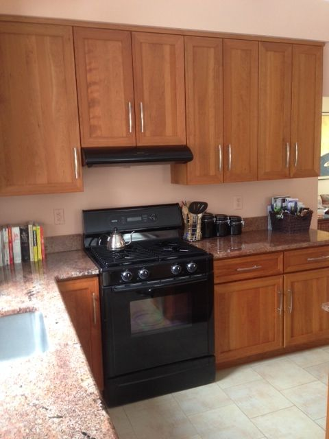 contemporary natural cherry kitchen cabinets - Google Search ...