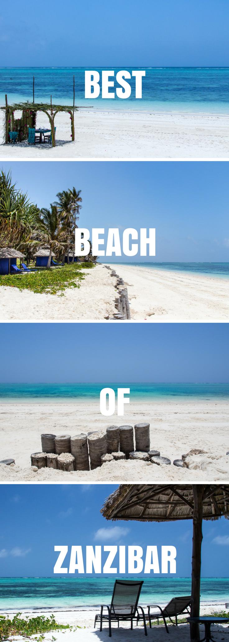 Ultimate Guide to Zanzibar Beaches