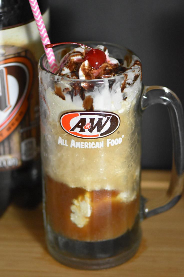 Frosty Mugs On Summer Nights Root Beer Float Root Beer A W Root Beer