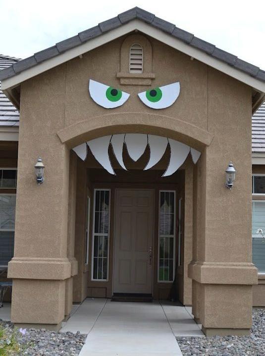 Beautiful Halloween Deko Selber Machen Haus Monster Torbogen