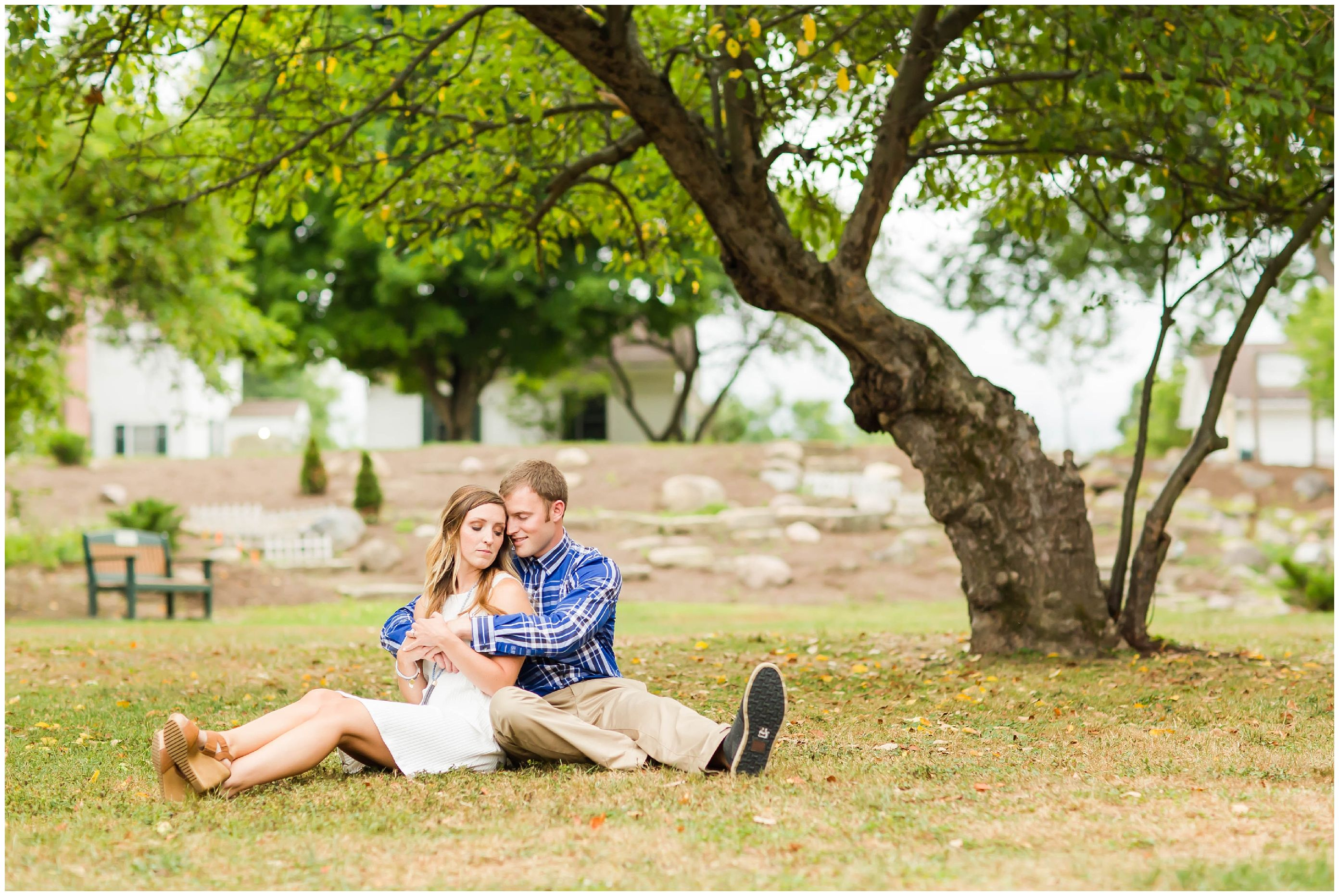 A beautiful Quail Hollow Engagement Session from