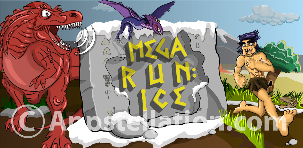Mega Run Ice Banner by kalabadi-hallaj.deviantart.com