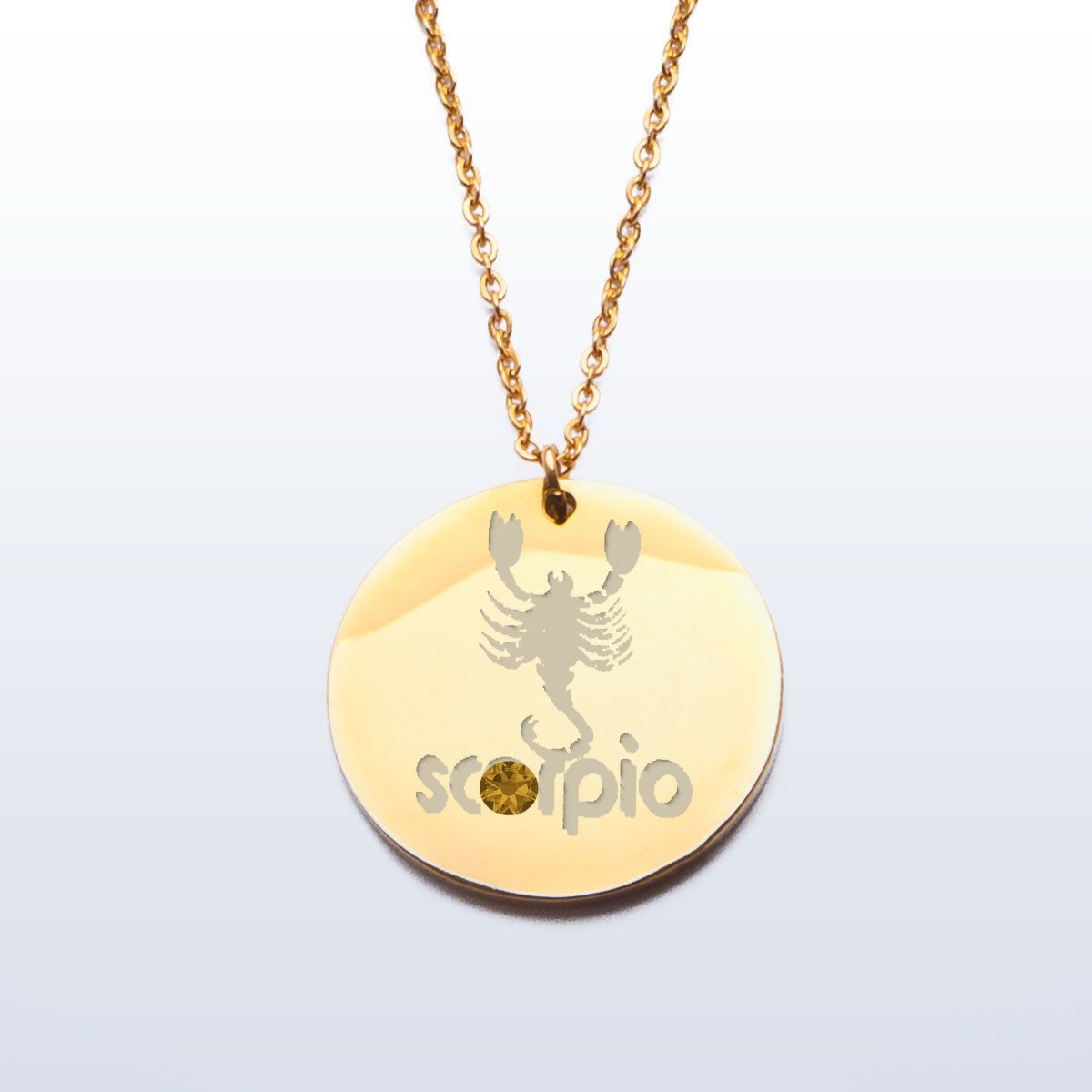 scorpio pendant gold francesca charm do necklace product g zodiac cl clalternate alternate s