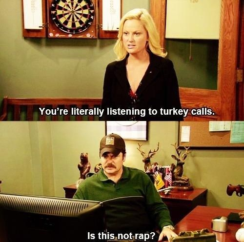 On Music Parks N Rec Ron Swanson Quotes Parks And Recs