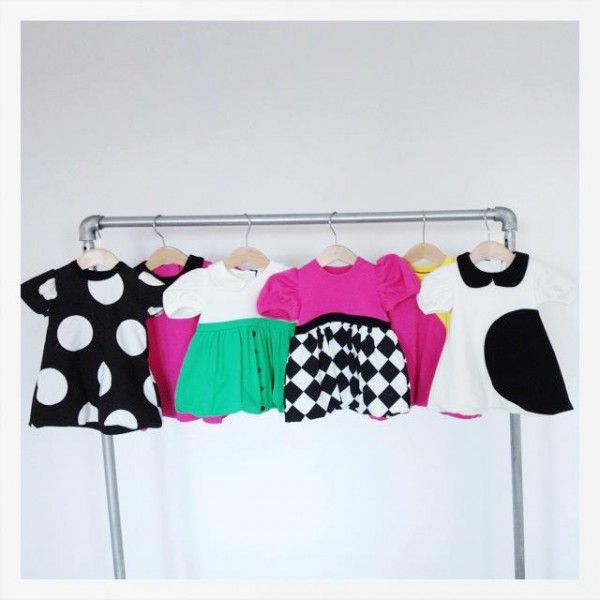 Cutest baby dresses from The Tiny Universe's Spring 2012 line.