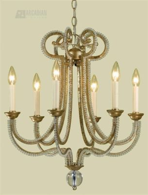 South Shore Decorating: Candice Olson 6772-6H Camerson Traditional Chandelier AF-6772-6H