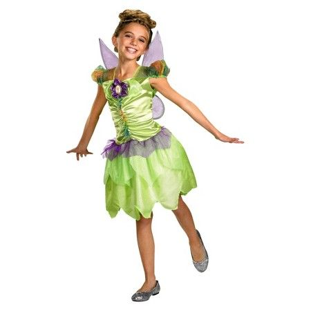 f2f0e282e Disney Girls' Tinker Bell Rainbow Classic Costume : Target ...