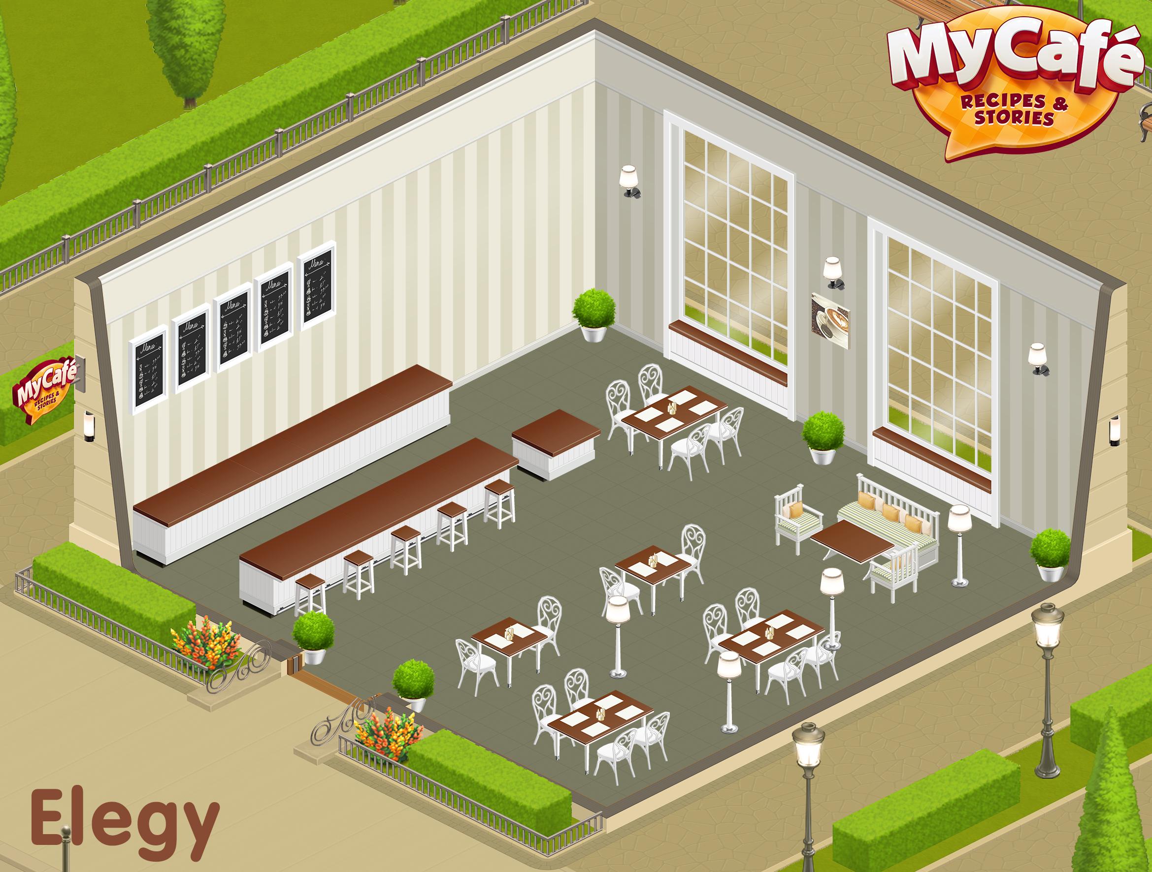 Elegy French Style My Cafe Game Mycafe Mycafegame Cafe