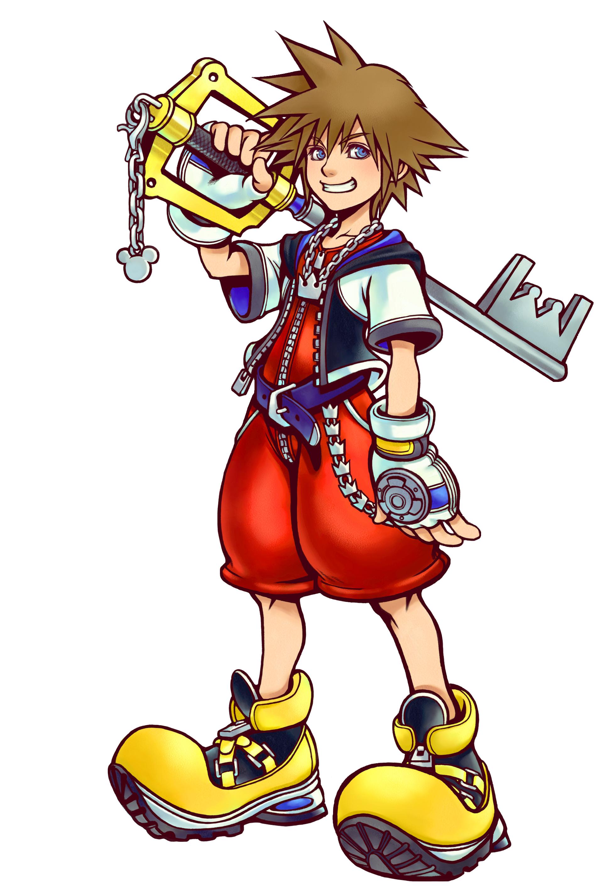 Character01 Sora01 Png 1900 2823 Kingdom Hearts Ii Kingdom Hearts Kingdom Hearts 1