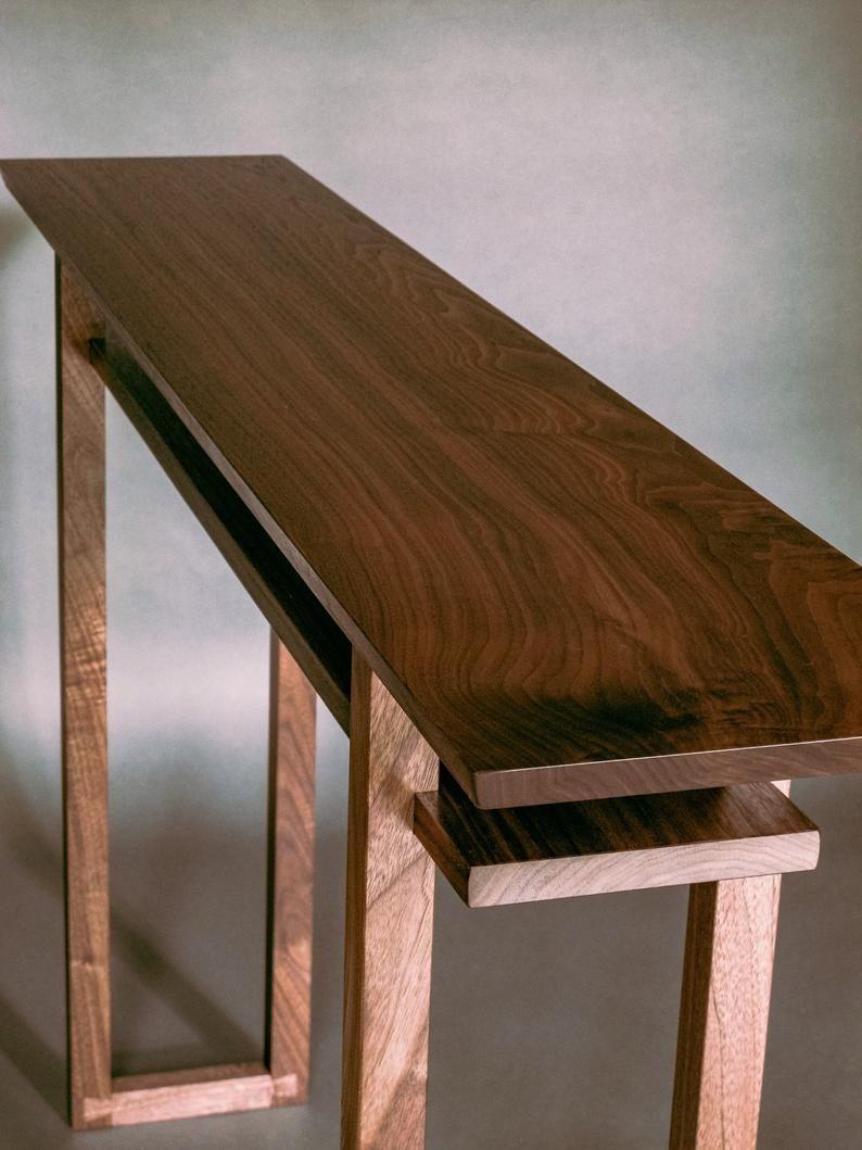 Best Modern Wood Narrow Hallway Table Narrow Console Table 400 x 300