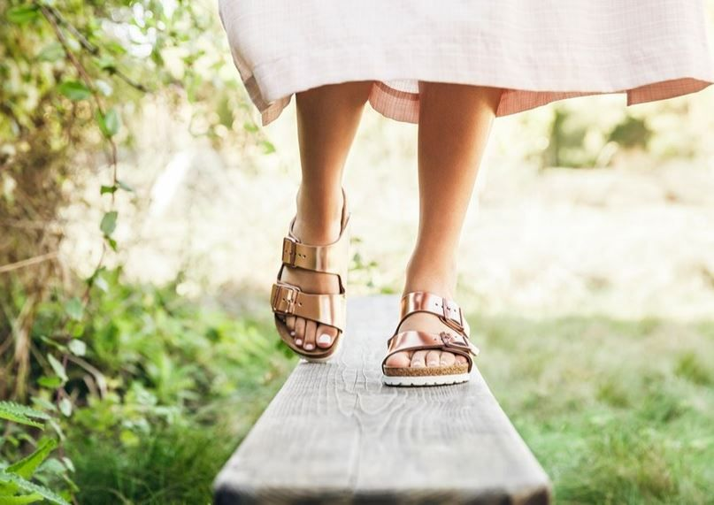 Rose Gold Birkenstocks for Valentine's Day Shopping and Info