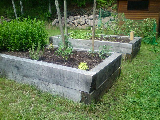 les potagers hors sol une id e astucieuse le jardin de marc jardin pinterest le potager. Black Bedroom Furniture Sets. Home Design Ideas
