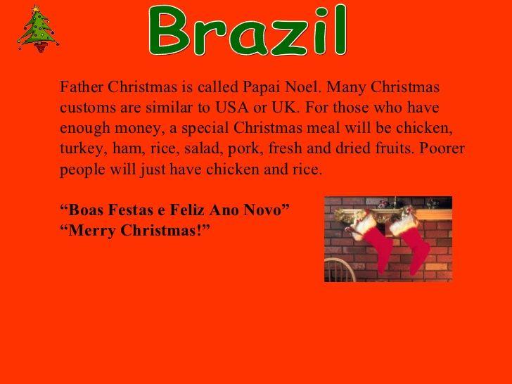 brazil christmas traditions - Google Search | CHRISTMAS ...