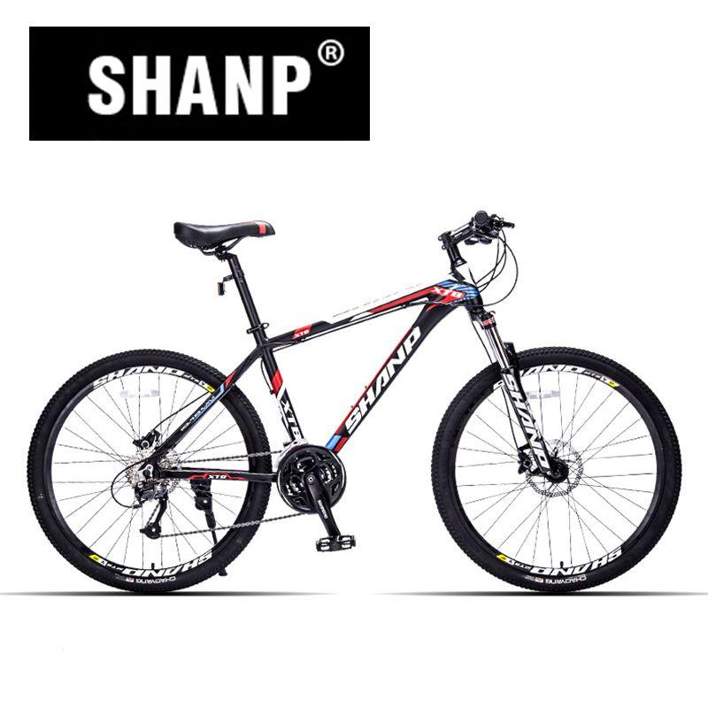 Check Price Shanp Mountain Bike Aluminum Frame 27 Speed Shimano