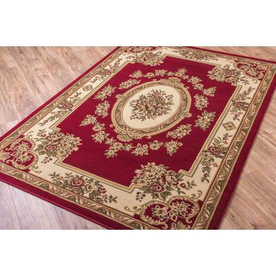 Well Woven Timeless Le Pe Palais Red Area Rug Reviews Wayfair