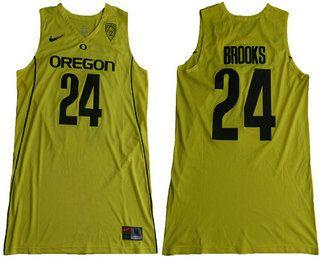 wholesale dealer 7abc6 70740 $21 Oregon Ducks #24 Dillon Brooks Yellow College Basketball ...