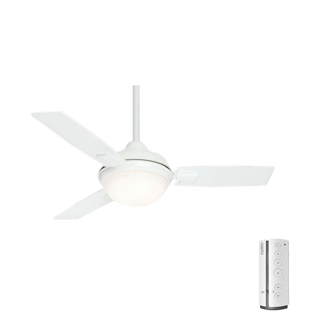 Casablanca Verse 44 In Led Indoor Outdoor Fresh White Ceiling Fan Ceiling Fan Ceiling Fan With Remote White Ceiling Fan
