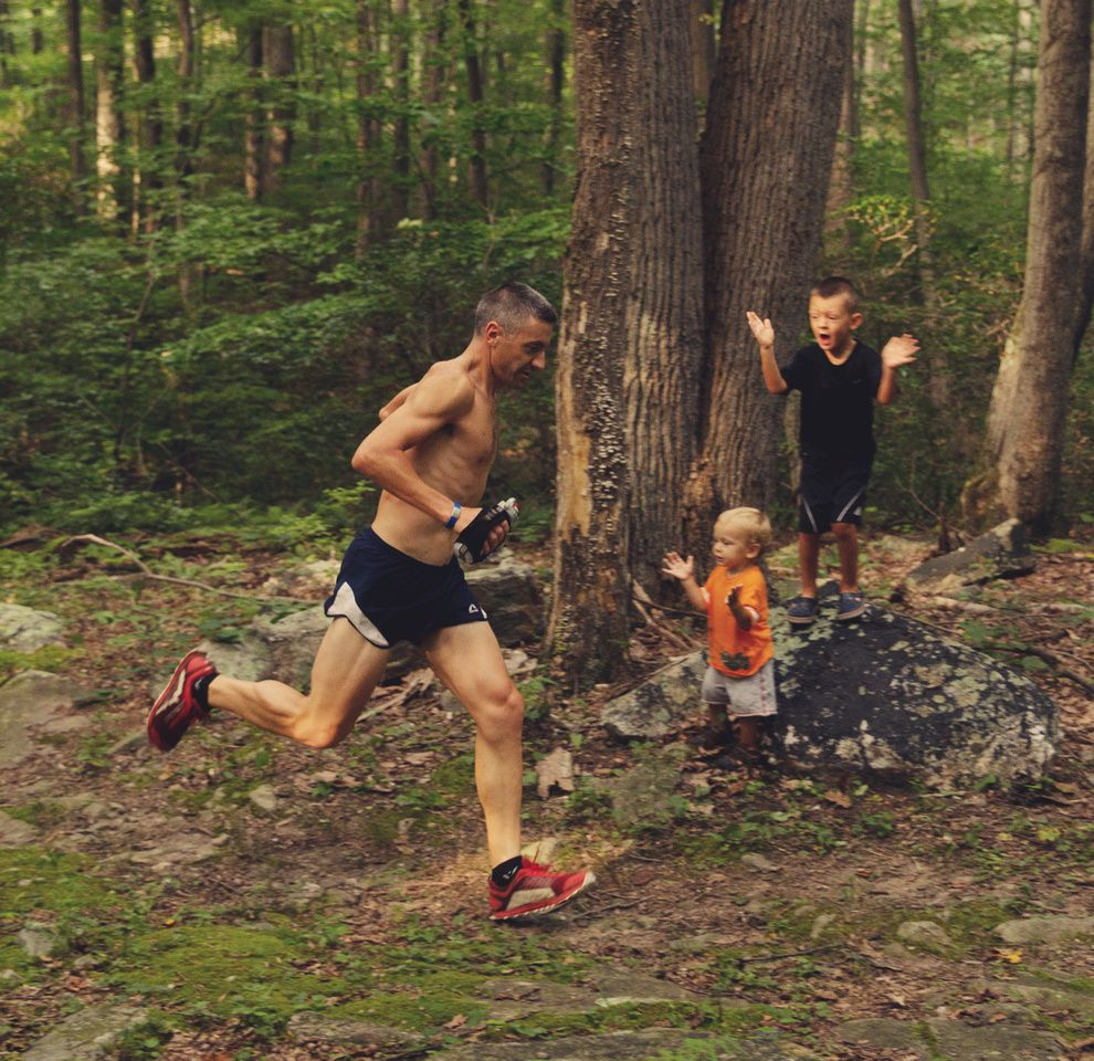 Father and boys trail running | Lindsey Welch Photography, Frederick, MD # trailrunning | Trail running photography, Running photography, Trail running
