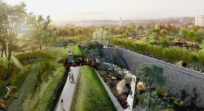 zoo landscape design