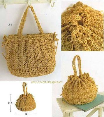 Stylish Easy Crochet Crochet Bag Pattern Crochet Handbags Purses