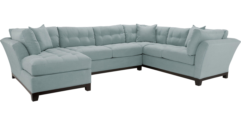 Pleasant Sectionals Cindy Crawford Cindy Crawford Metropolis Dailytribune Chair Design For Home Dailytribuneorg