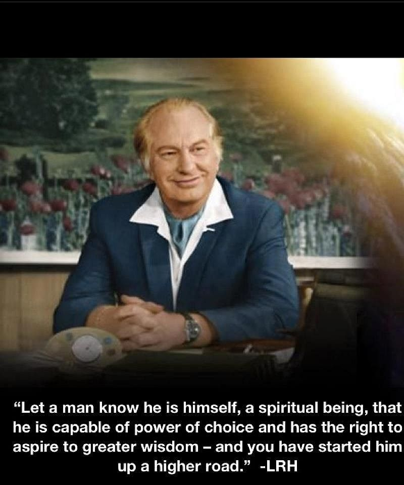 Let A Man Know L Ron Hubbard Church Of Scientology