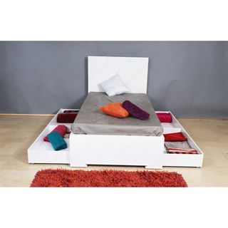 Check Out The Whiteline Modern Living Bt1009d Wht Anna Twin Bed In
