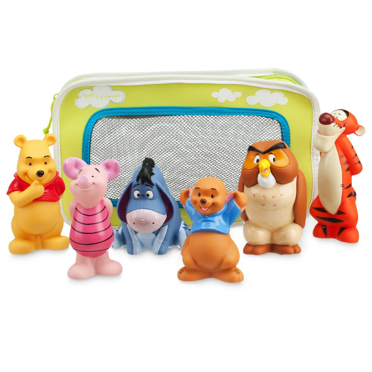 Product Image Of Winnie The Pooh And Pals Bath Toy Set For Baby