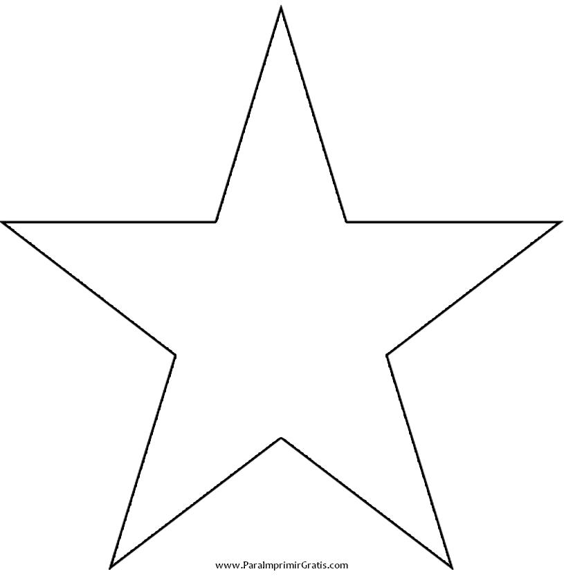 Estrella Para Imprimir Gratis Moldes De Estrellas Estrellas Para Imprimir Dibujos De Estrellas