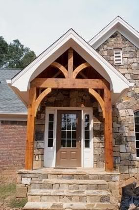 Beautiful Front Porch! Iu0027d Be Perfectly Happy With Something Like This!