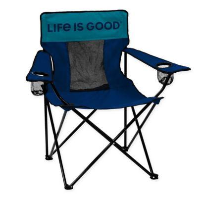 Wondrous Life Is Good Elite Beach Chair In Navy Products Chair Machost Co Dining Chair Design Ideas Machostcouk