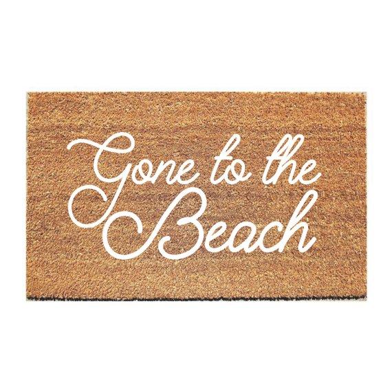 Beach Doormat Hello Mat Welcome Cute Doormats