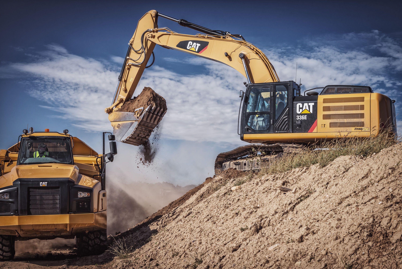 giant cat excavator - photo #8