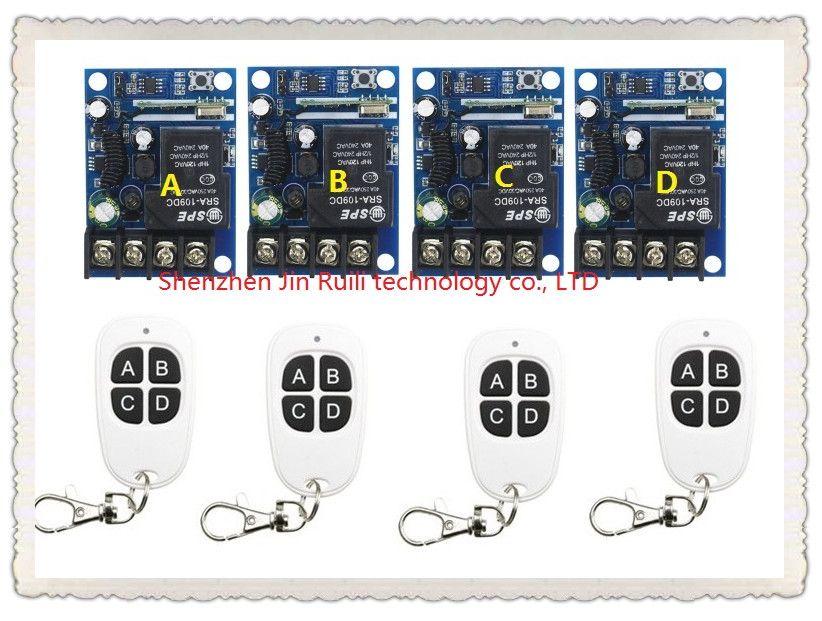 New DC12--48V 12V 24V 36V 48V 1CH 10A RF Wireless Remote Controller