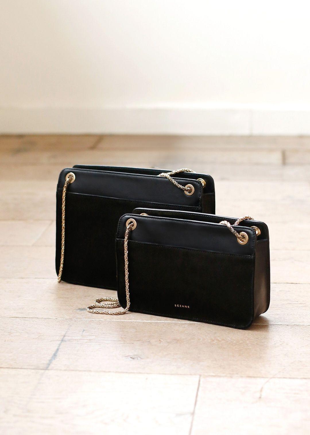 Sézane - Abelle Mini Bag   A LOT of Black, Grey, Oatmeal, and White ... 89f51b22b5cb