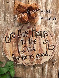 F Pumpkin Door Hanger Fall Door Hanger Fall Decor - Wooden door hanger template
