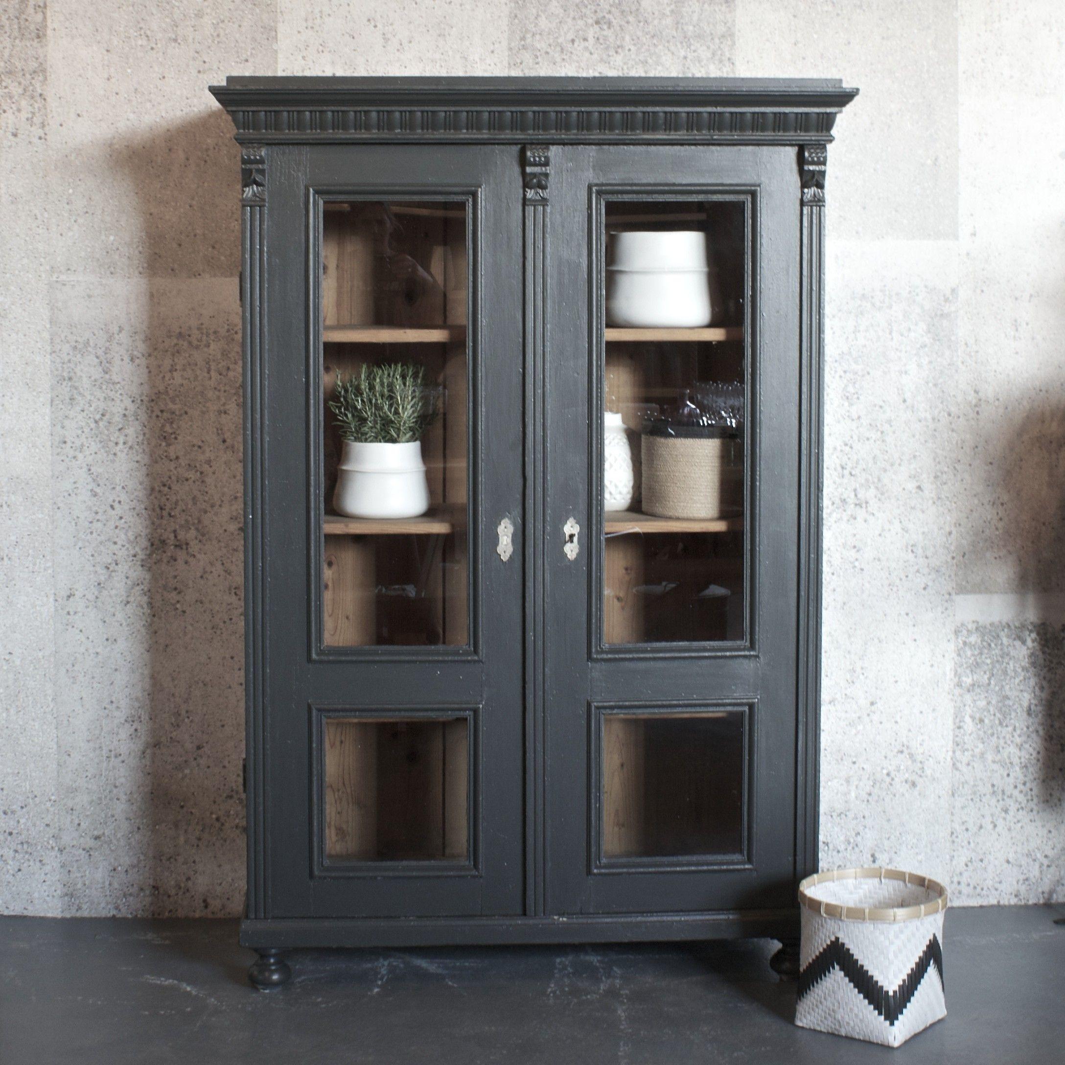 Design vintage vintage hungarian cupboard dresser linen