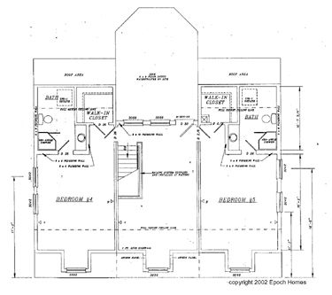 Gambrel Barn House Plans | CADSmith New England Gambrel house plan with 1st floor bedroom, 3
