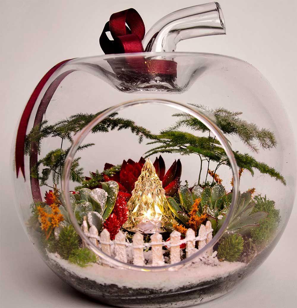 Christmas Decoration 2019 Christmas Terrarium Ornament