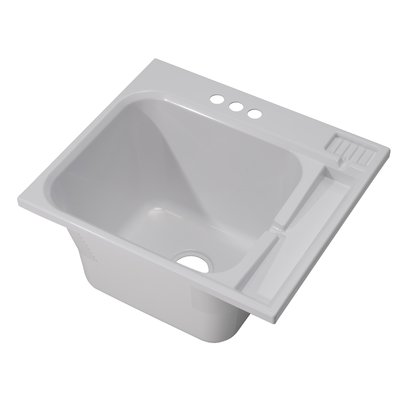 Cashel 25 X 22 Drop In Laundry Sink In 2020 Laundry Sink