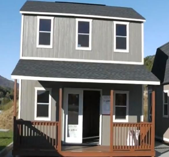 16 X 20 Plan 1 Shed Homes Shed To Tiny House Small House