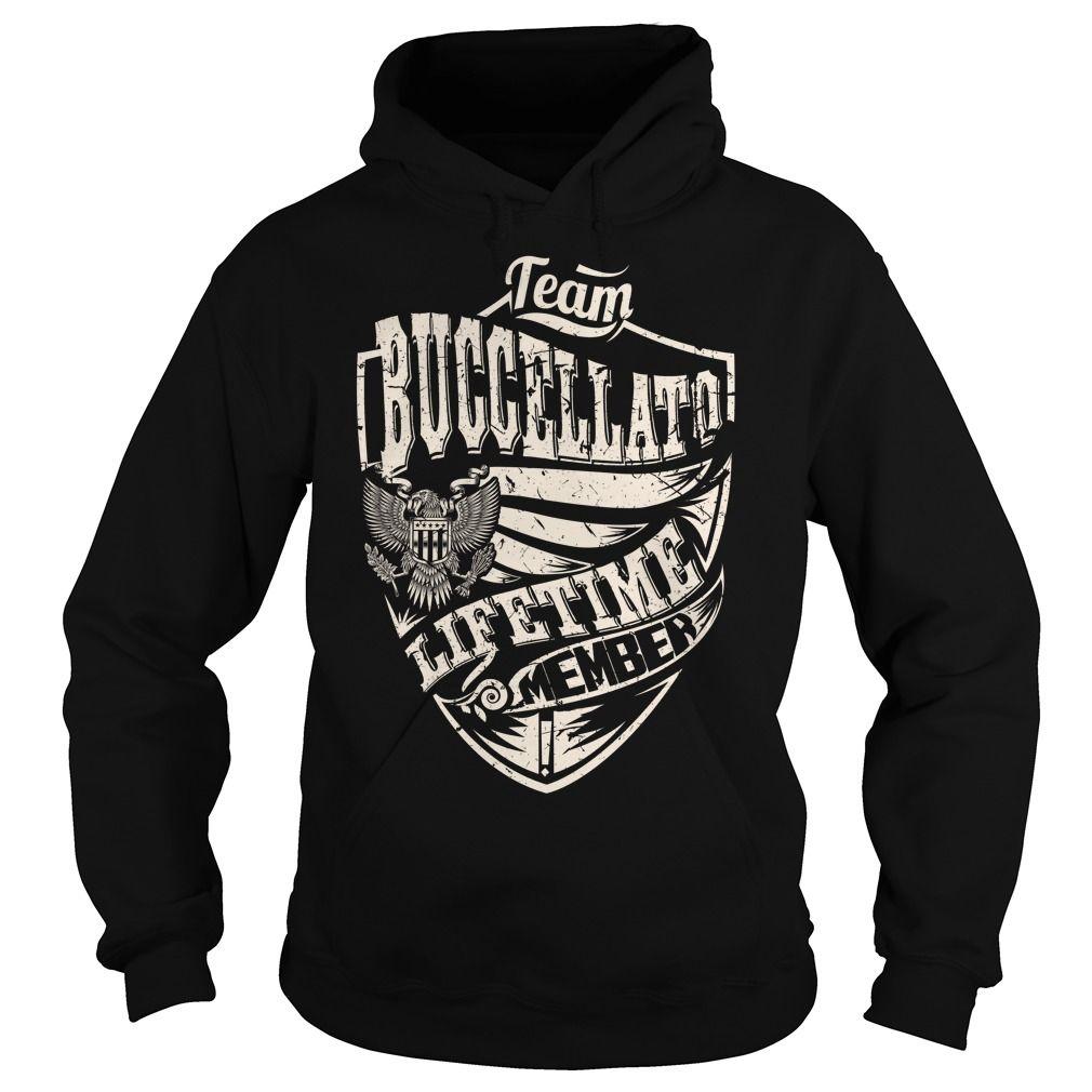 Last Name, Surname Tshirts - Team BUCCELLATO Lifetime Member Eagle
