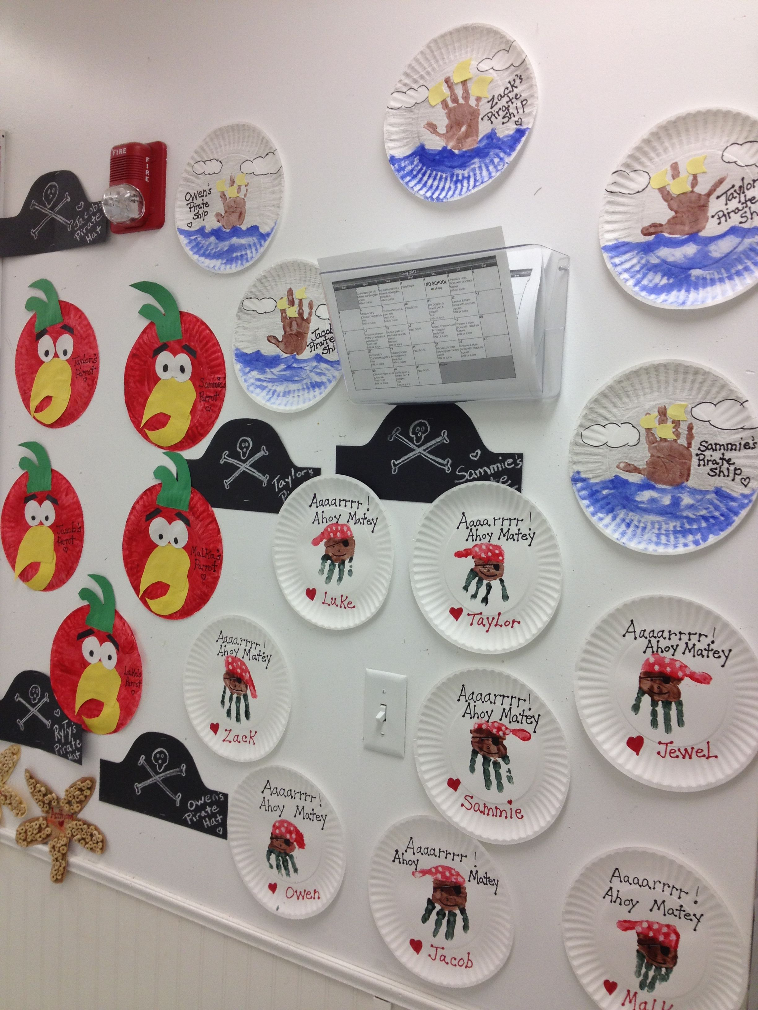 Craft Wall For Pirate Week