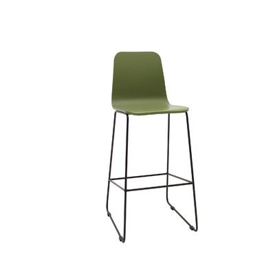 Fine Urbn Agnes 30 Bar Stool Upholstery Green Lacquer Gamerscity Chair Design For Home Gamerscityorg