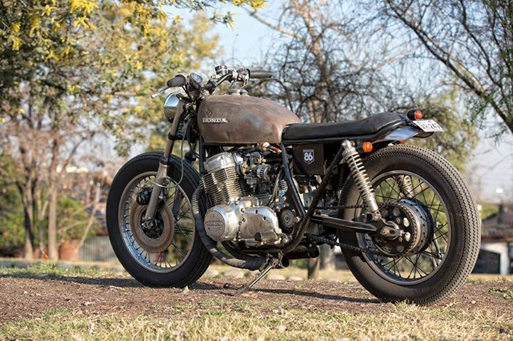 86 Motorcycles CB750 Brat