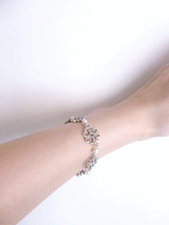 """Prix special - Bracelet mariage """"Camille"""" : Bracelet par les-bijoux-d-aki"""