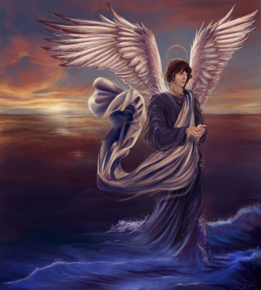Image result for archangel Raphael, fantasy art