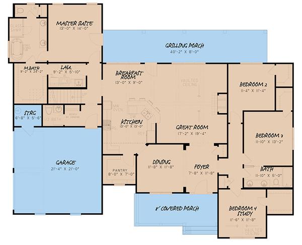 Farmhouse Style House Plan 4 Beds 2 5 Baths 2294 Sq Ft Plan 923 157 In 2020 House Plans Farmhouse Family House Plans Farmhouse Style House Plans